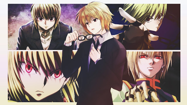 wallpaper hunter x hunter kurapika