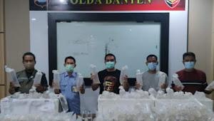 Polda Banten tangkap penyeludup bibit Lobster