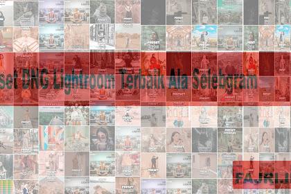100 Preset DNG Lightroom Terbaik Ala Selebgram