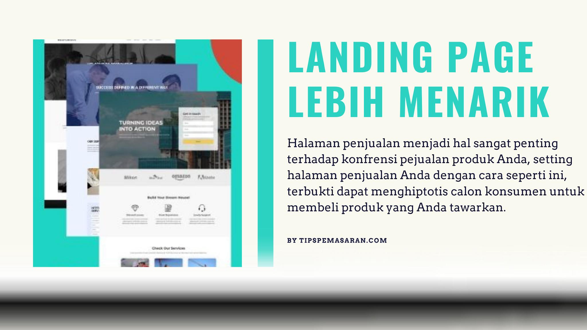 cara membuat landing page yang dapat meningkatkan penjualan online