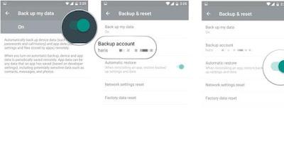 Cara Restore Data dan Aplikasi Android Dari Google Mudah