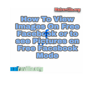 Trick Discovered:How to view images and pictures on Free Facebook mode