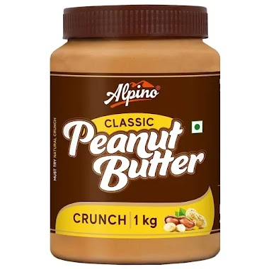 Alpino Classic Peanut Butter Crunch, 1 kg