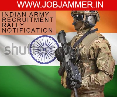 Indian Army Recruitment Rally Darjeeling and  Kalimpong districts from 14 October 2019