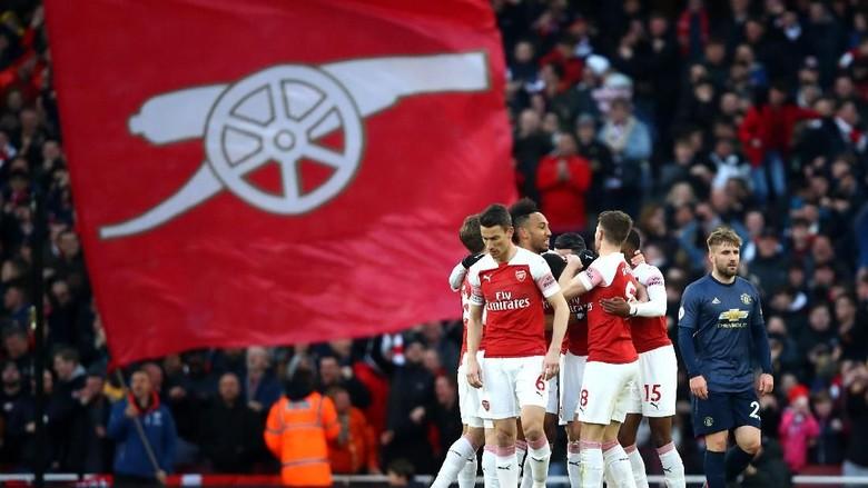 Emery Tak Mau Arsenal Dilenakan Hasil positif Melawan Man. United