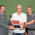 Sindicato Rural doa tablet para a Polícia Militar