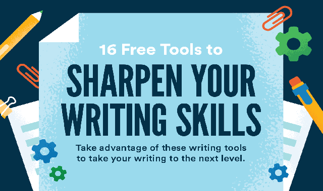 25 Free Tools to Improve Your Writing Skills #infographic