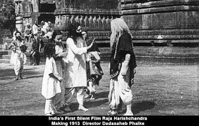 India's First Silent Film Raja Harishchandra Making 1913  Director Dadasaheb Phalke