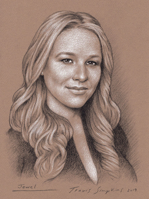 Jewel Kilcher. Singer-Songwriter, Musician, Actress, Author and Poet. by Travis Simpkins
