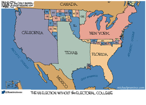 The Electoral College founded by The Founding Fathers is a brilliant idea! Theo5