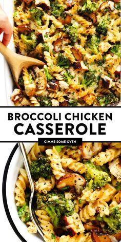 Healthier Broccoli Chicken Casserole Recipes