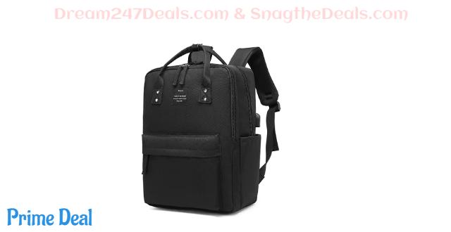 50% off  Ronyes Laptop Backpack 15.6 Inch Waterproof College Bag School Daypack Bookbag for Women Men