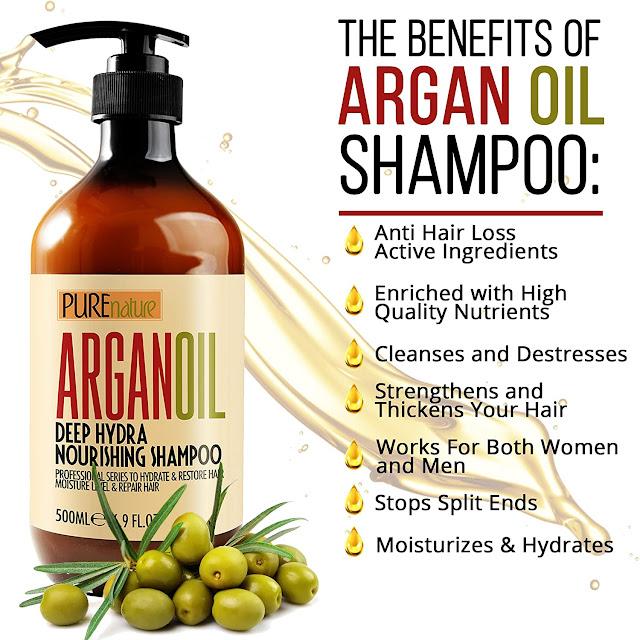 Moroccan Argan Oil Shampoo