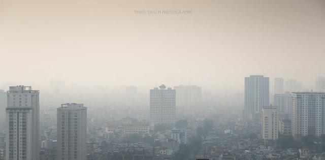 Những điều về ô nhiễm không khí tai Hà Nội mà bạn cần biết