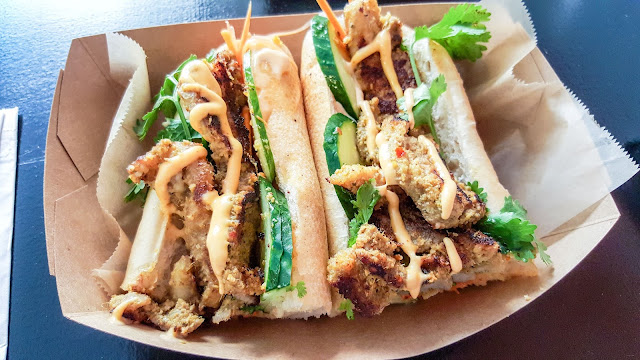 Bistro Southeast - Lemongrass Pork Belly Sandwich