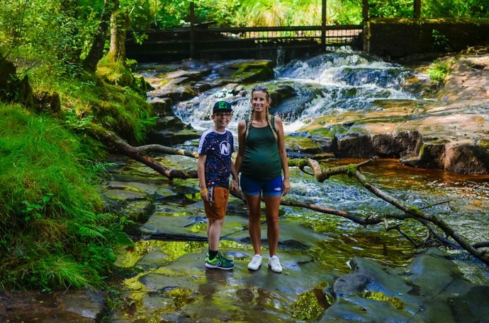 South Wales with Kids, exploring Wales, Brecon Beacons, Garwnant