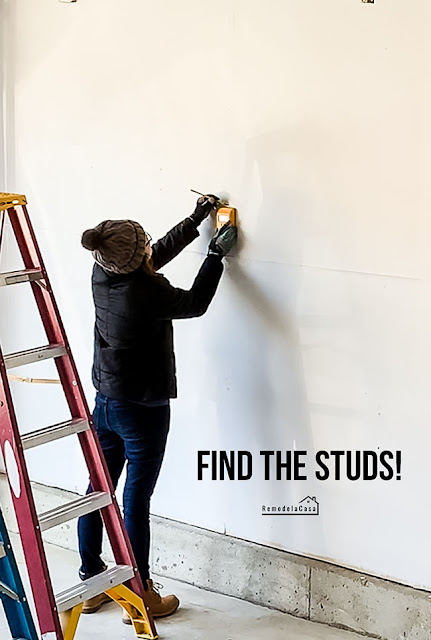 How to find the studs on the wall