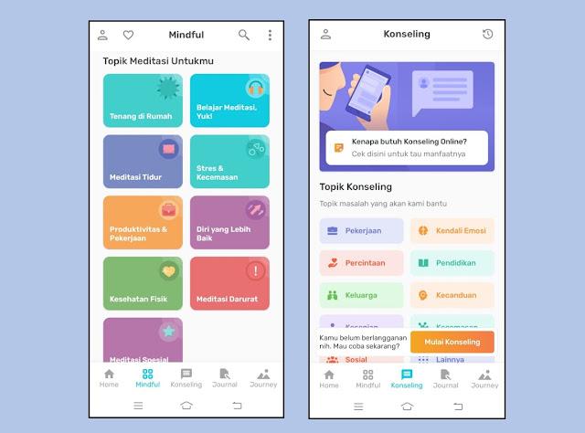 aplikasi konseling psikolog online
