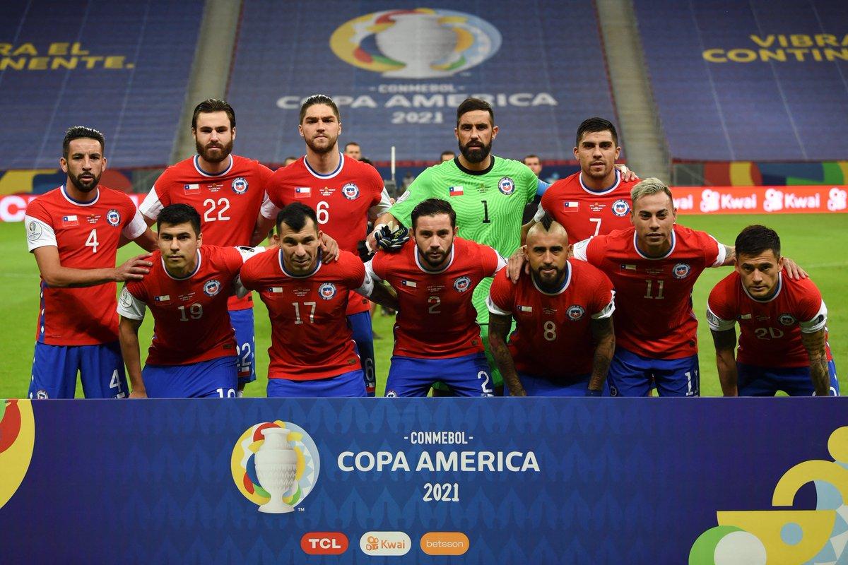 Formación de Chile ante Paraguay, Copa América 2021, 24 de junio