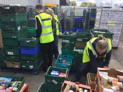 FareShare Sorting Food Waste