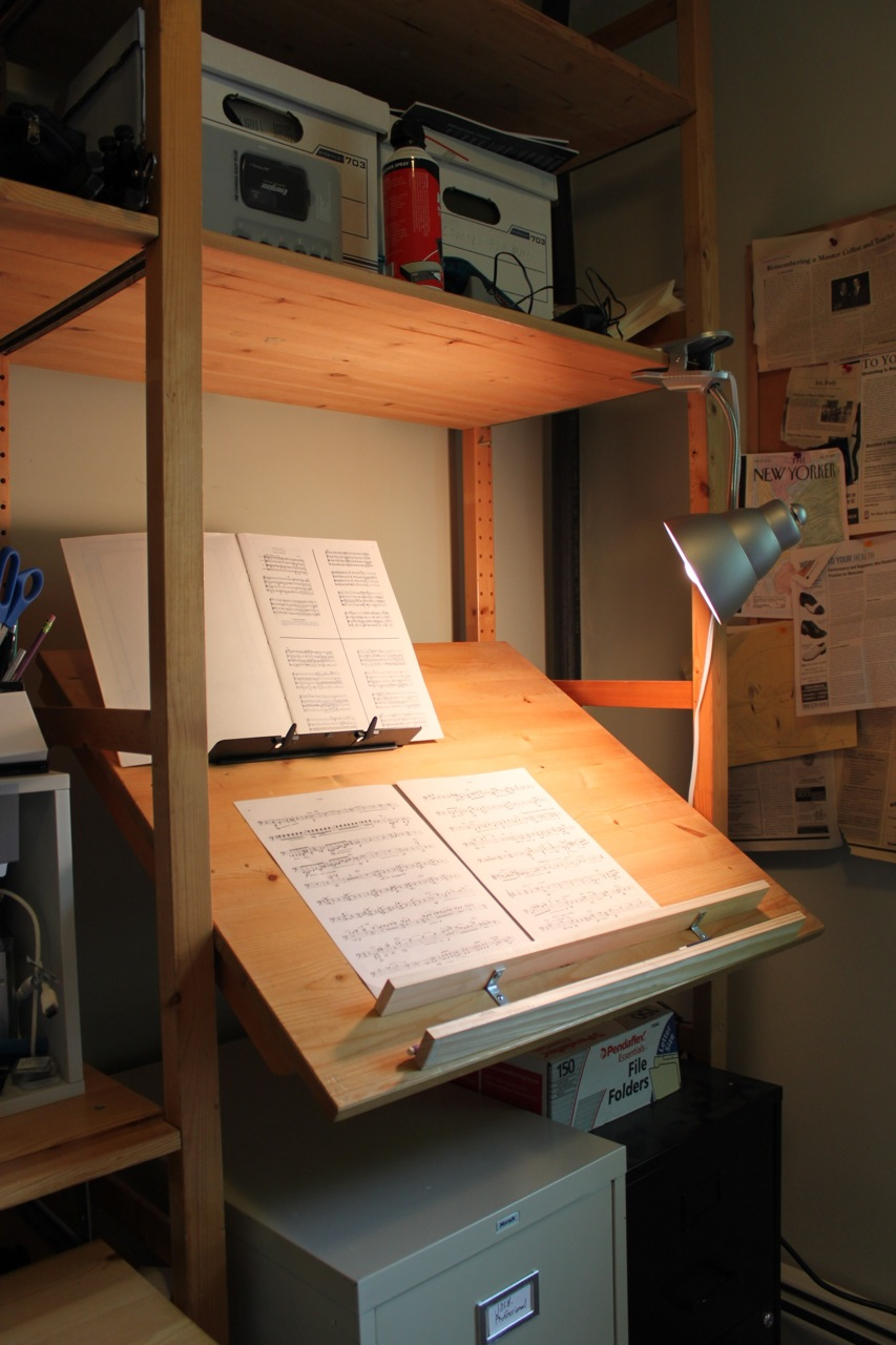 Ivar Stand Up Music Cueing Desk Drafting Table Get