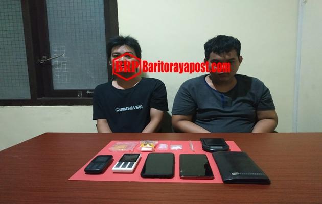 Terbukti Memiliki Sabu 4,45 gram, Dua Pria Warga Kabupaten Barut Harus Berurusan Pihak Kepolisian