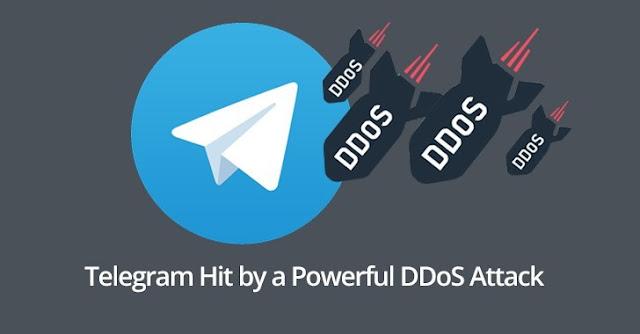Attacco DDos a Telegram