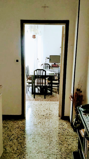 Trilocale Azzano San Paolo Piazza IV Novembre, corridoio