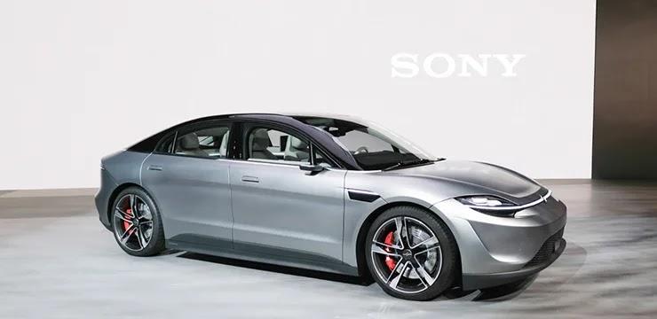 Электрокар от Sony