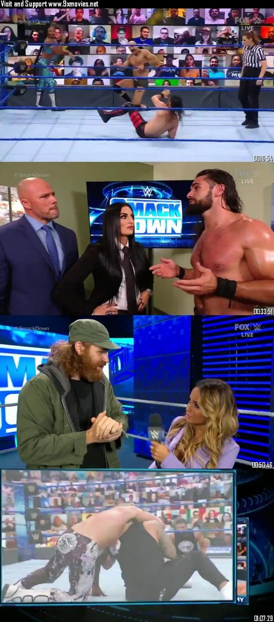 WWE Friday Night Smackdown 25 June 2021 HDTV 720p 480p 300MB
