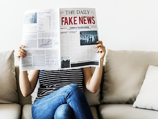 reading the daily fake news