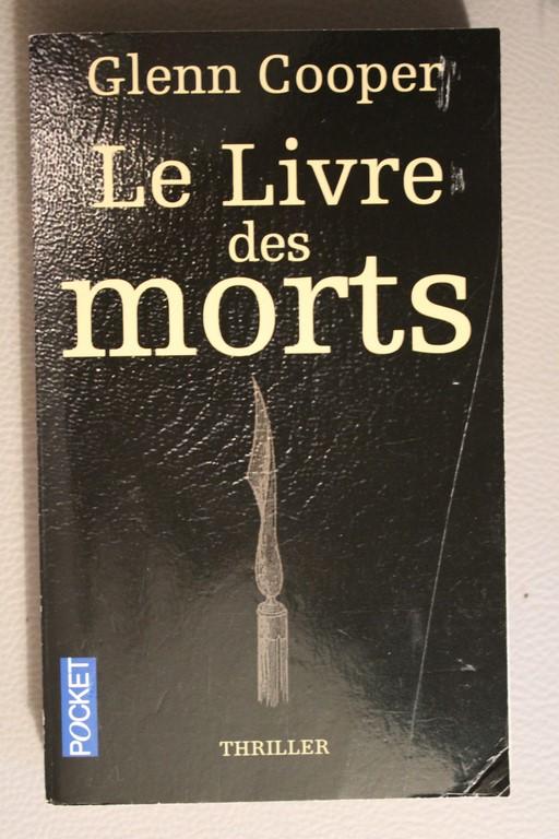 Le Livre Des Morts Glenn Cooper : livre, morts, glenn, cooper, L'instant, Lecteurs:, Livre, Morts