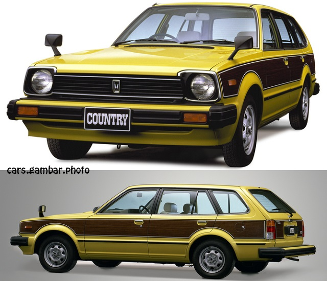 1980 Honda Civic Country Station Wagon 2nd Gen Yellow