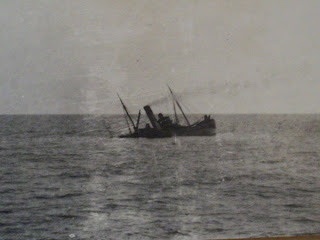 WWI U Boat Attacks the Mirlo off the North Carolina Coast ...