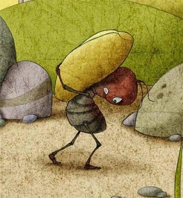 Ameise und Mistkäfer - Fabelvariation - Vorsorge