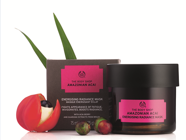 Amazonian Acai Emergising Radiance Mask 75ml by The Body Shop