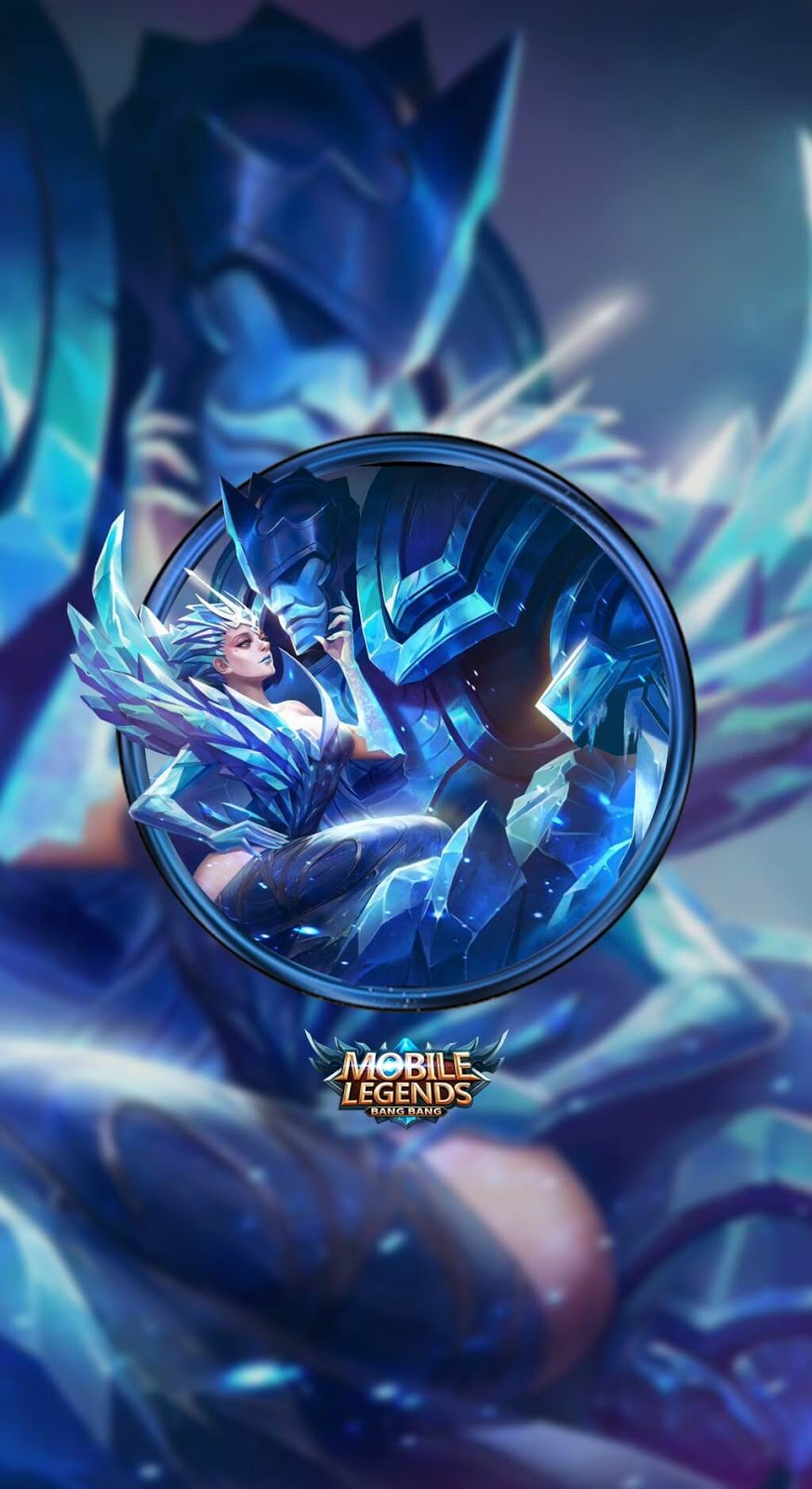Wallpaper Aurora Queen of the North Skin Mobile Legends HD for Mobile