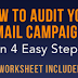 How to Audit Your Email Marketing Campaigns in 4 Steps