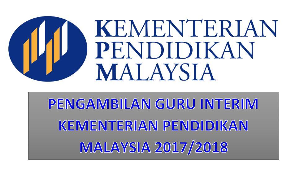 Pengambilan Guru Interim Kementerian Pendidikan Malaysia 2017 2018 Teachernet2u