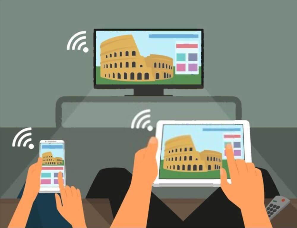 Cara Menghubungkan HP ke TV Tabung