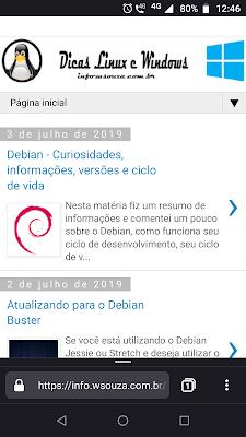 Novo Firefox para Android - Dicas Linux e Windows