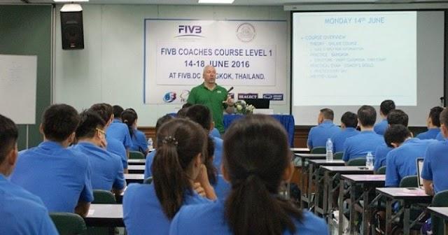 Trung tâm phát triển FIVB tại Thái Lan hoạt động tốt