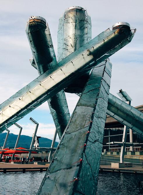 Vancouver Olympic Cauldron 2010