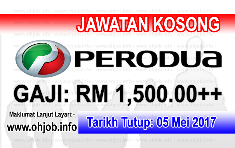 Jawata Kerja Kosong PERODUA logo www.ohjob.info mei 2017