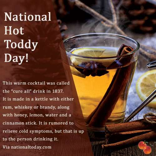 National Hot Toddy Day Wishes