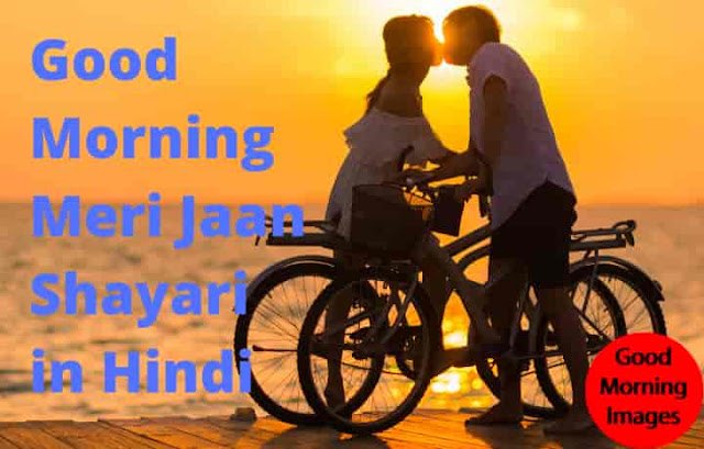 Good Morning Meri Jaan Shayari in Hindi