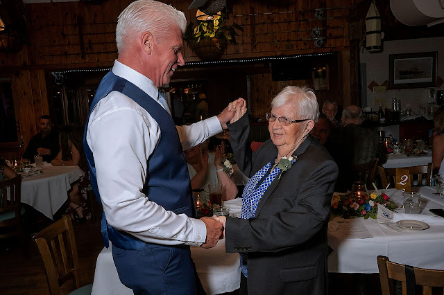 Father son dance at Reception