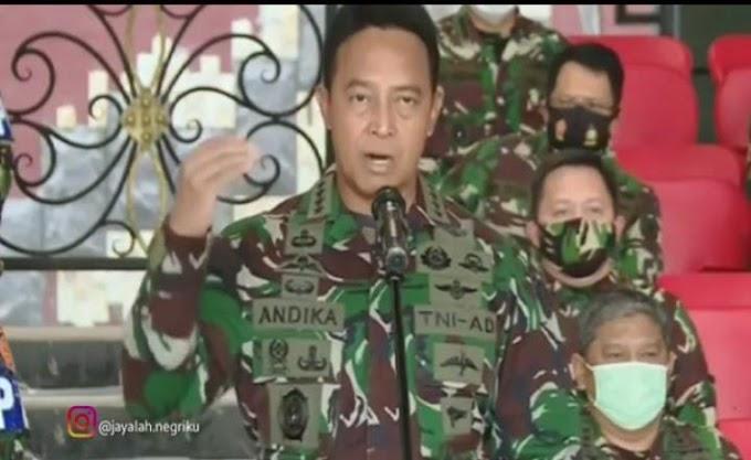 Soal Perusakan Mapolsek Ciracas, Jenderal TNI Andika Sebut 12 Anggota TNI Telah Ditahan, 19 Lainya Jalani Pemeriksaan