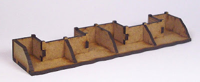 Crenelated Trench Section T25-10mm-01 back
