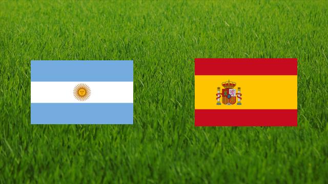 مباراة اسبانيا والارجنتين اليوم